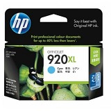 HP Cyan Ink Cartridge 920XL [CD972AA] - Tinta Printer Hp